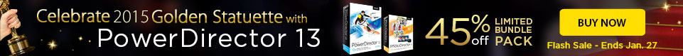 45% OFF PowerDirector 13 Ultimate