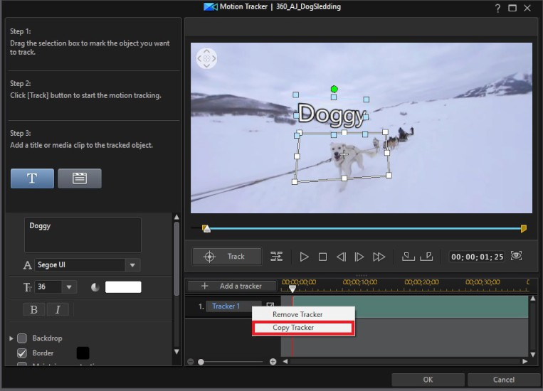 How to Utilize Motion Tracking with 360° Video