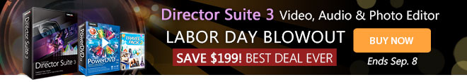 Director Suite 3: 4-in-1 Editing Suite PLUS Media Player Combo